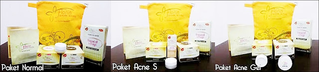 Jenis paket Florin skin care