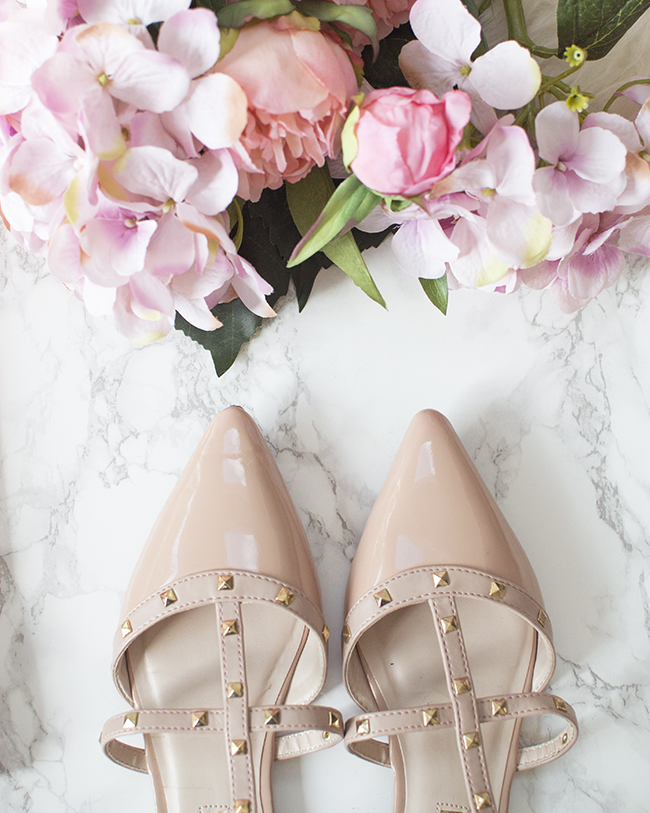 Primark Studded Ballerina Shoes