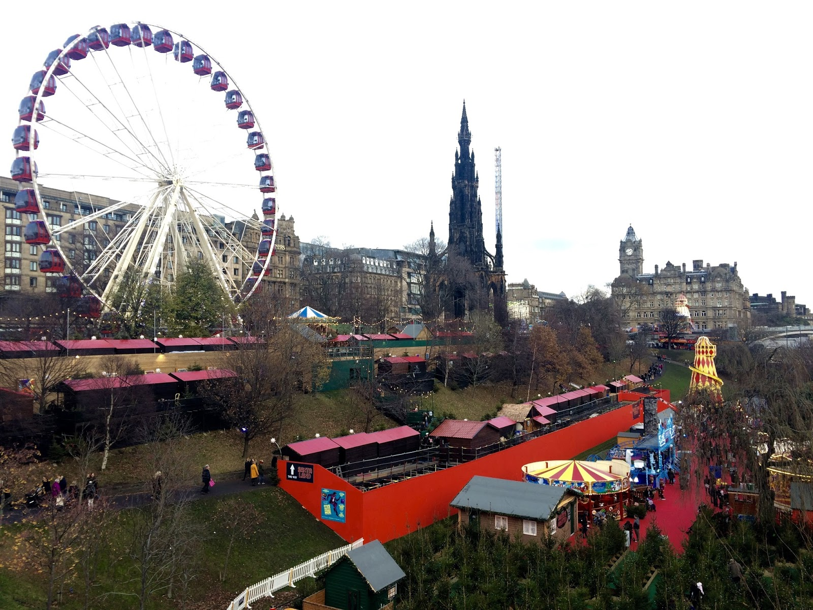 Edinburgh Christmas Markets 2016