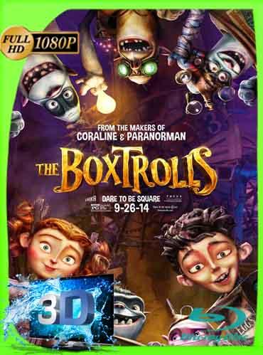 Los Boxtrolls 2014 Latino Full 3D SBS 1080P [GoogleDrive] dizonHD
