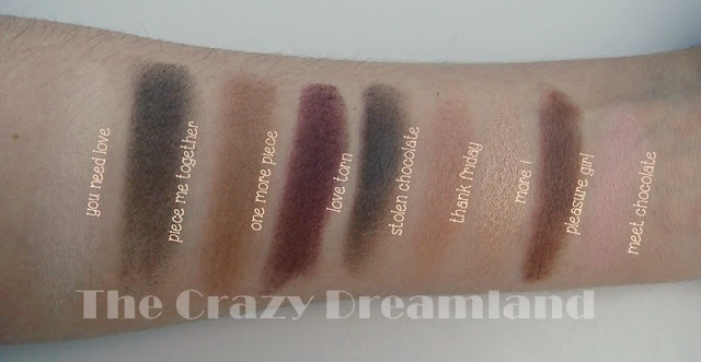 swatches i heart chocolate