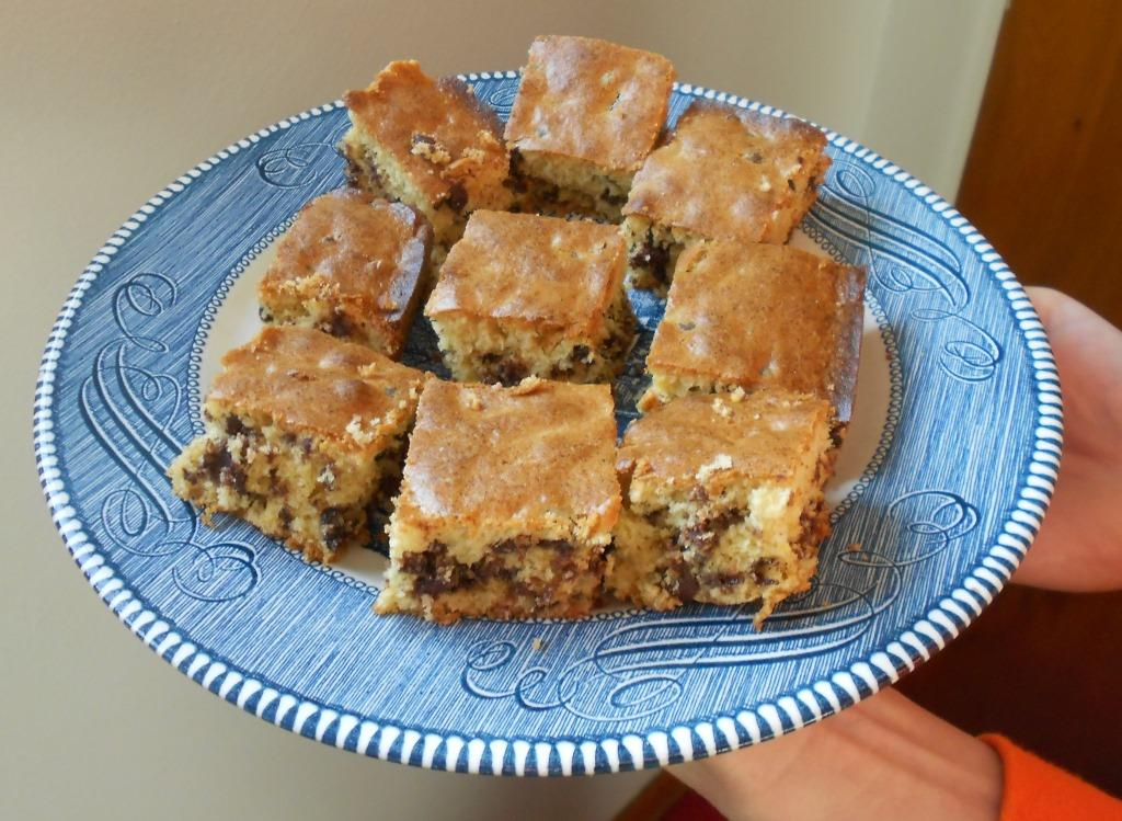 Orange-Chocolate Chip Bars