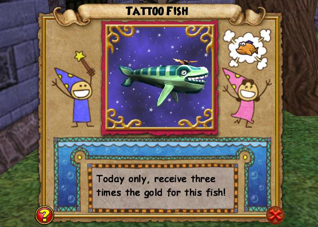 Wizard101 Fishing