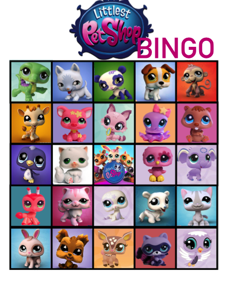 Littlest pet shop bingo files daisy celebrates for Animals decoration games