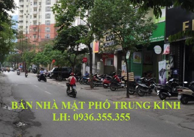 Bán Nhà Mặt Phố Trung Kính, Trung Hòa, Cầu Giấy, 90m2, 7 Tầng, Thang Máy