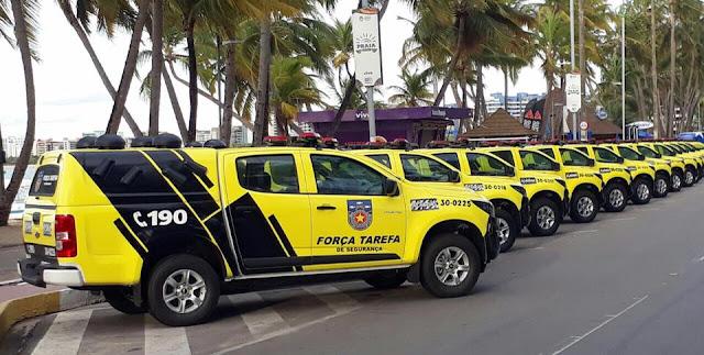 Governador de Alagoas, adquire  viaturas para a nova Força Tarefa de Segurança Pública