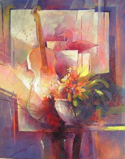 """Beautiful Paintings by """"Claudio Perini"""" - An Italian Painter"""