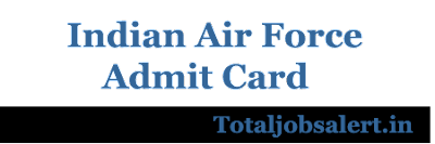 Indian Air Force MTS Admit Card 2016