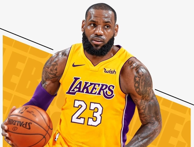 LeBron James acuerda con los Lakers