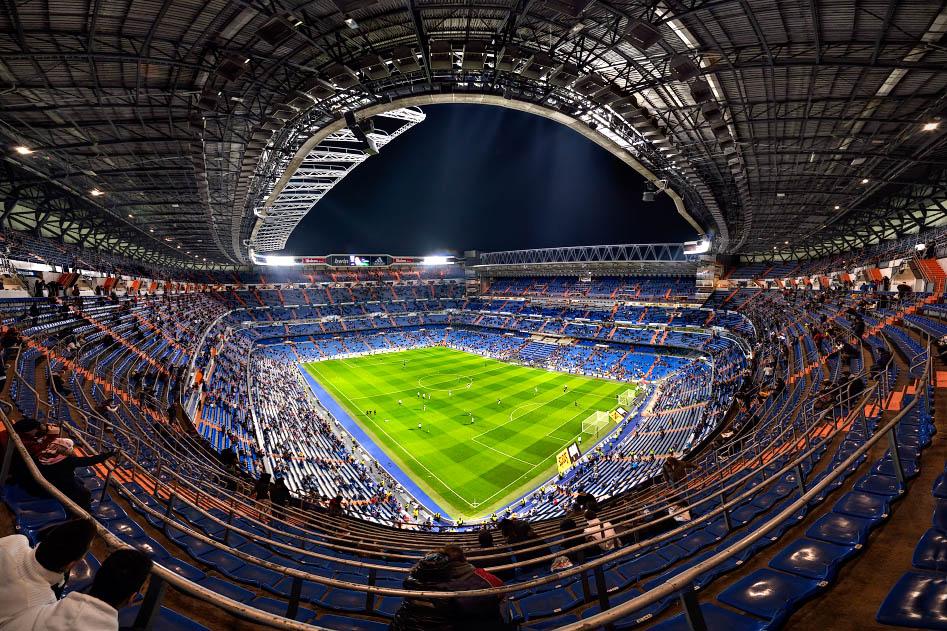 Educaci n f sica y cultura f sica el estadio santiago for Estadio bernabeu puerta 0