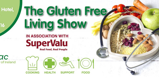 Gluten Free Living Show this weekend!