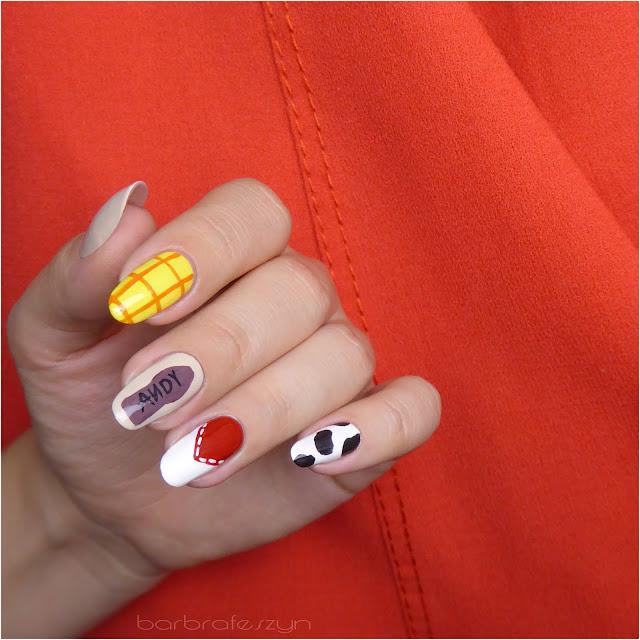 Toy Story paznokcie