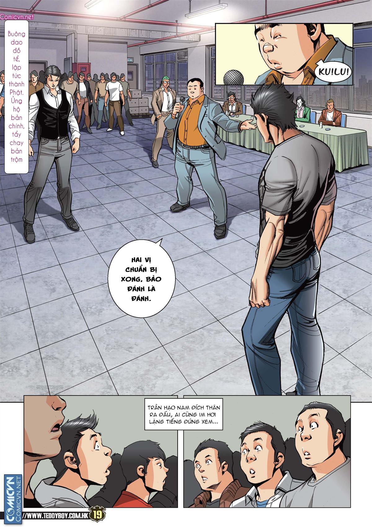 Người Trong Giang Hồ chapter 2119: nam ca vs thượng võ trang 18