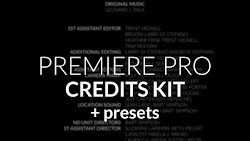 Credit Roll Kit For Premiere - Premiere Pro Templates | Motionarray 144431 - Free download