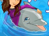 لعبة عروض الدلفين