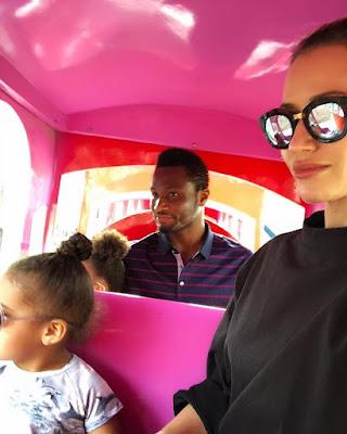 Mikel Obi And His Partner, Olga Celebrates 7 Year Anniversary