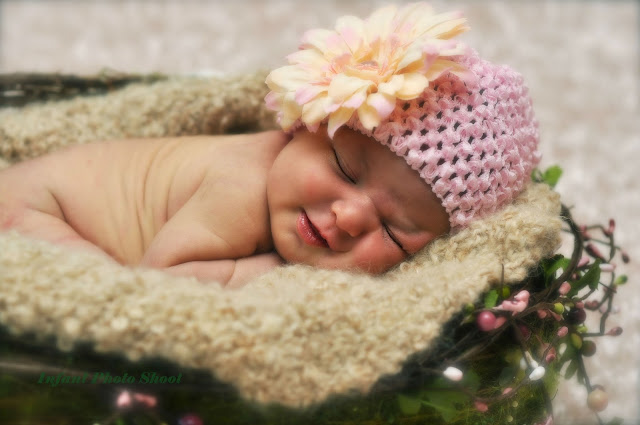 infant photo shoot ideas