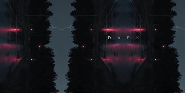 Título de Dark en el opening de Netflix