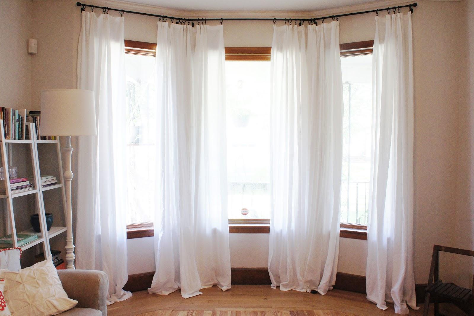 Lilikoi Vanilla Diy Pinch Pleat Curtains