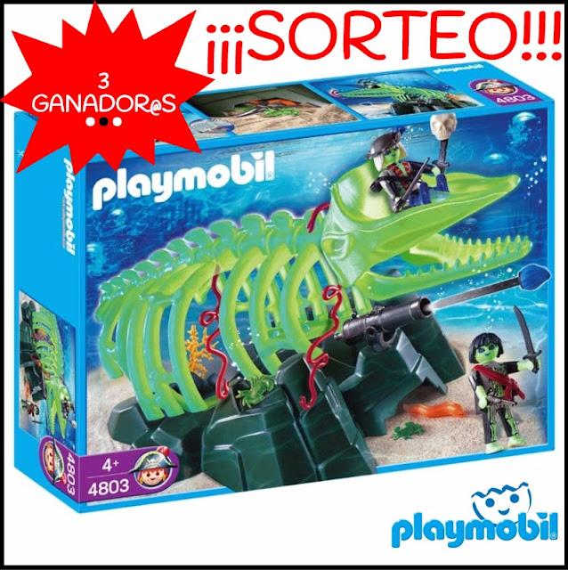 Esqueleto Ballena Playmobil