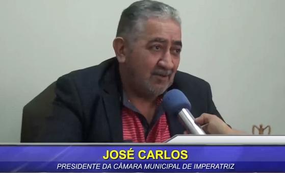 Deputado Marco Aurélio fez questão de colocar Zé Carlos como oposição ao candidato do governo!!!