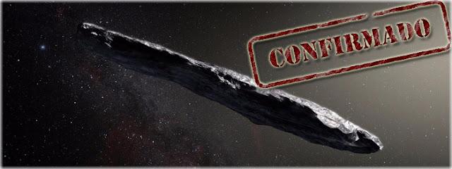 'Oumuamua - foi confirmado o primeiro visitante interestelar