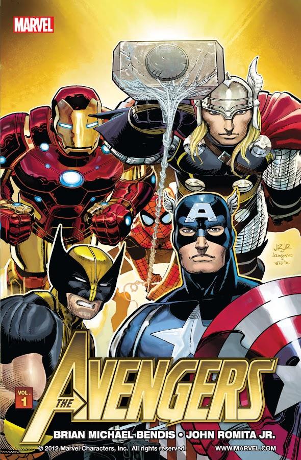 avengers marvel comics brian michael bendis