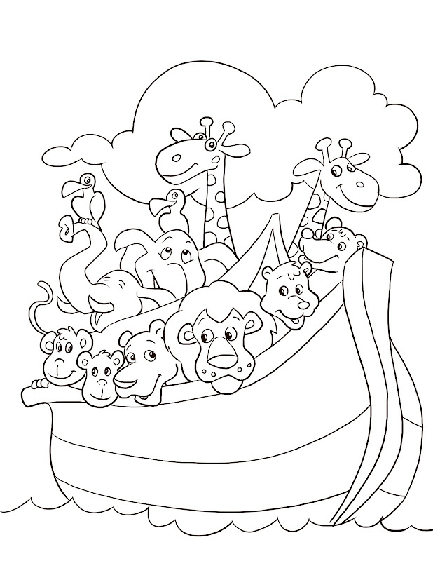 Noah'S Ark Pictures To Color 26