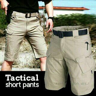 celana cargo tactical polisi pria