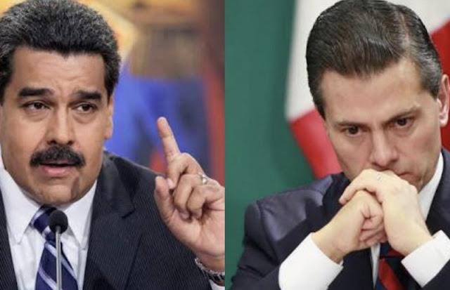 """""""México es un esclavo arrodillado a las órdenes de Donald Trump"""": Maduro"""