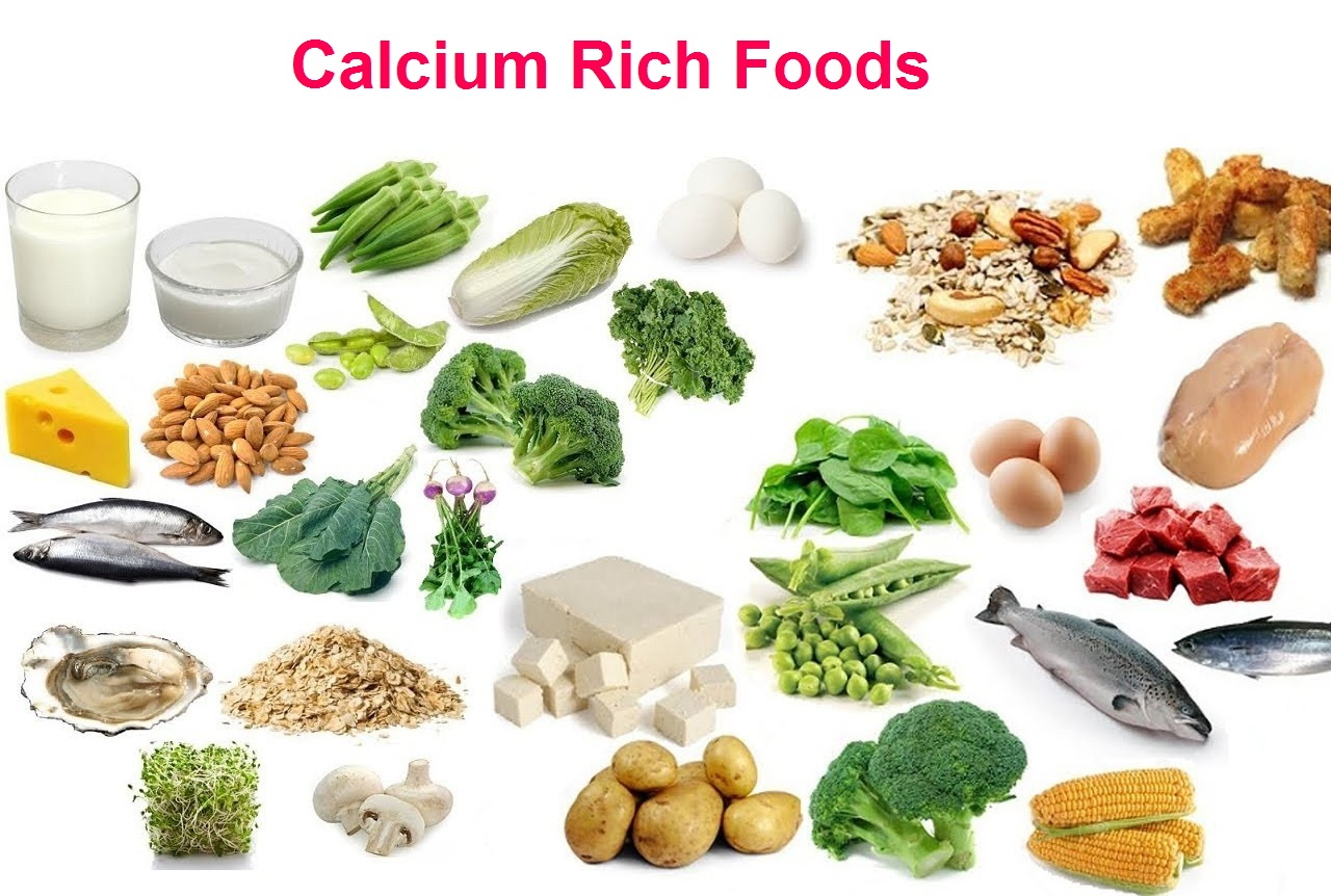 The best calcium-rich foods