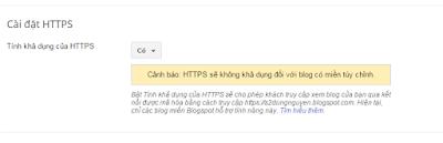 seo blogspot dễ dàng với https