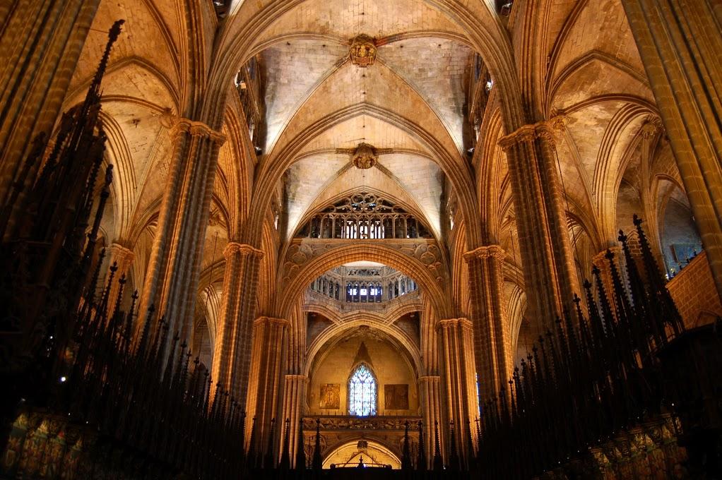 Blog De Historia Del Arte Interior De La Catedral De Barcelona