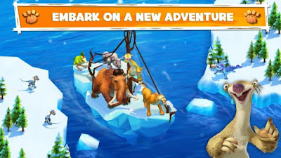 Download Game Ice Age Adventures Apk v2.0.2e Mod (Free Shopping + Anti Ban)