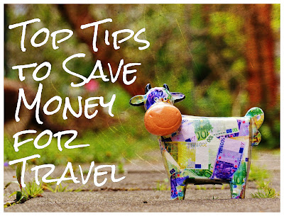 top Tips to save money for travel