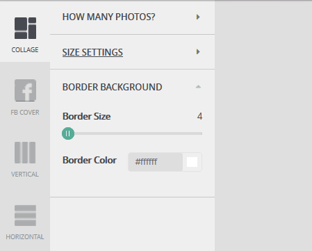 Pengaturan Border