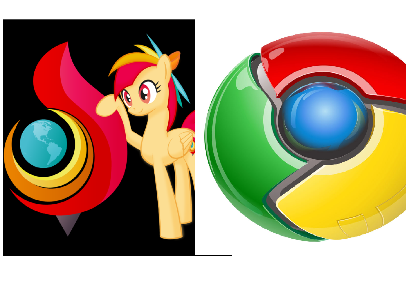 Google Chrome Vs Torch Browser 2014