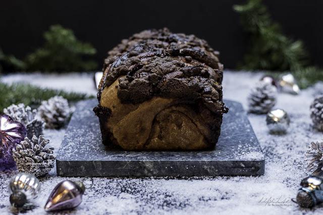 Schokoladen Hefezopf - Babka - Jüdisches Gebäck