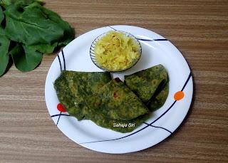 Palak Chapathi