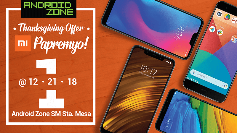 Android Zone to hold 1 hour rush and PHP 1 sale on Xiaomi smartphones today!