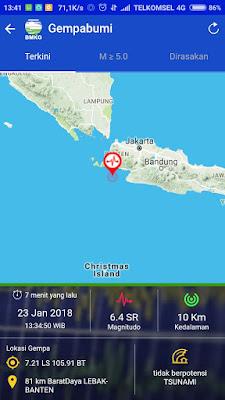 info gempa bumi