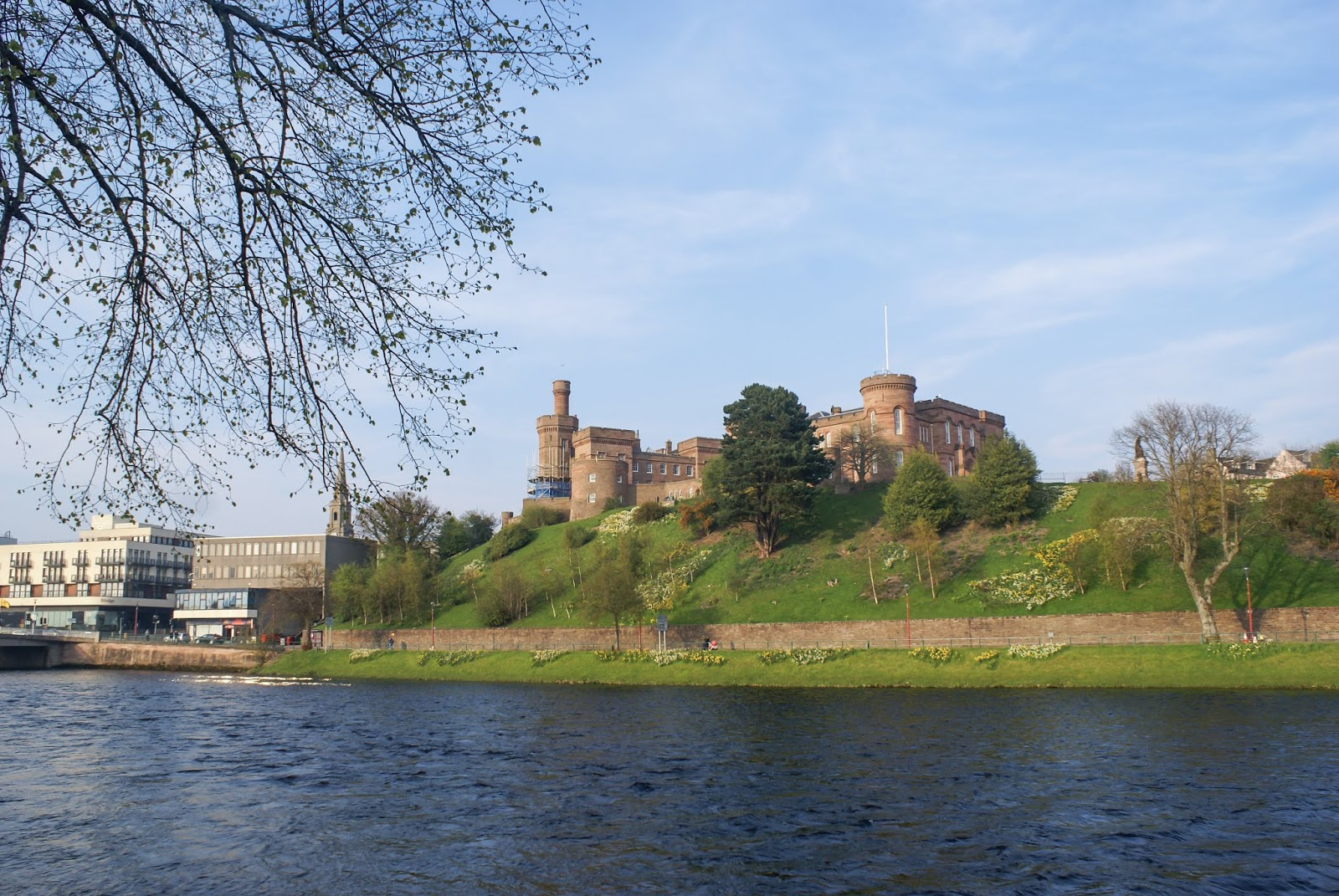 inverness ness scotland castle