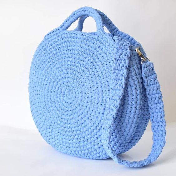 Bolsa En Crochet Patrón