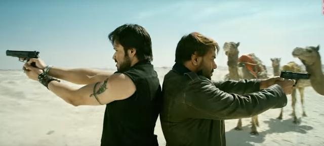 Baadshaho Teaser Ajay Devgan Emraan Hashmi