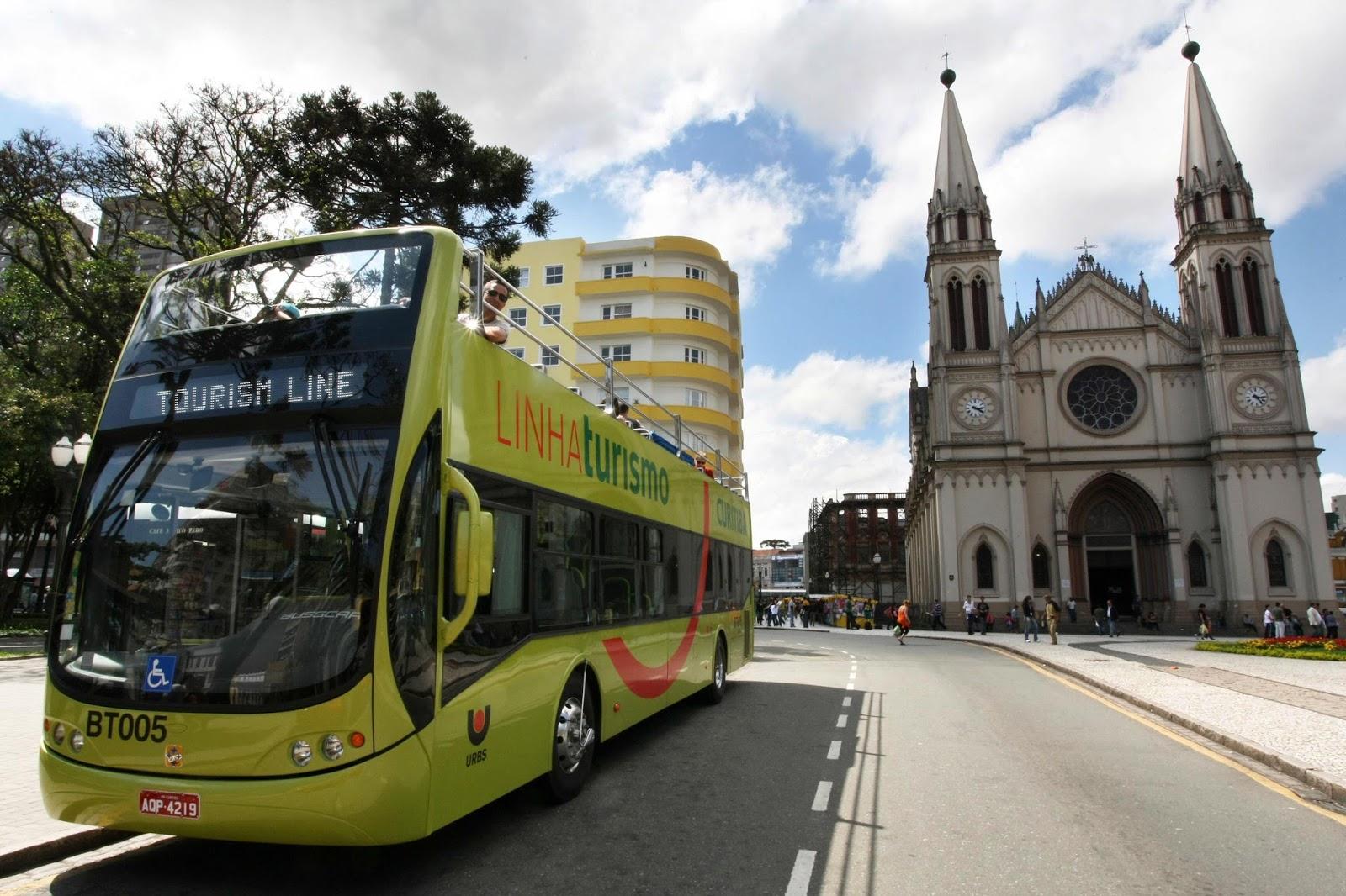 Ônibus da Linha Turismo passam a operar também às segundas-feiras