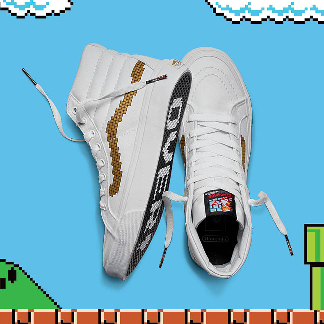 Nintendo vans, game over, sneakers, authentic, yoshi, mario, princess peach, donkey kong, fashion blogger, belgian blogger, belgie, trends 2016