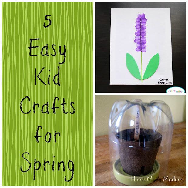 Featured 5 Spring Projects: Home Made Modern: Craft Of The Week: 5 Easy Spring Crafts