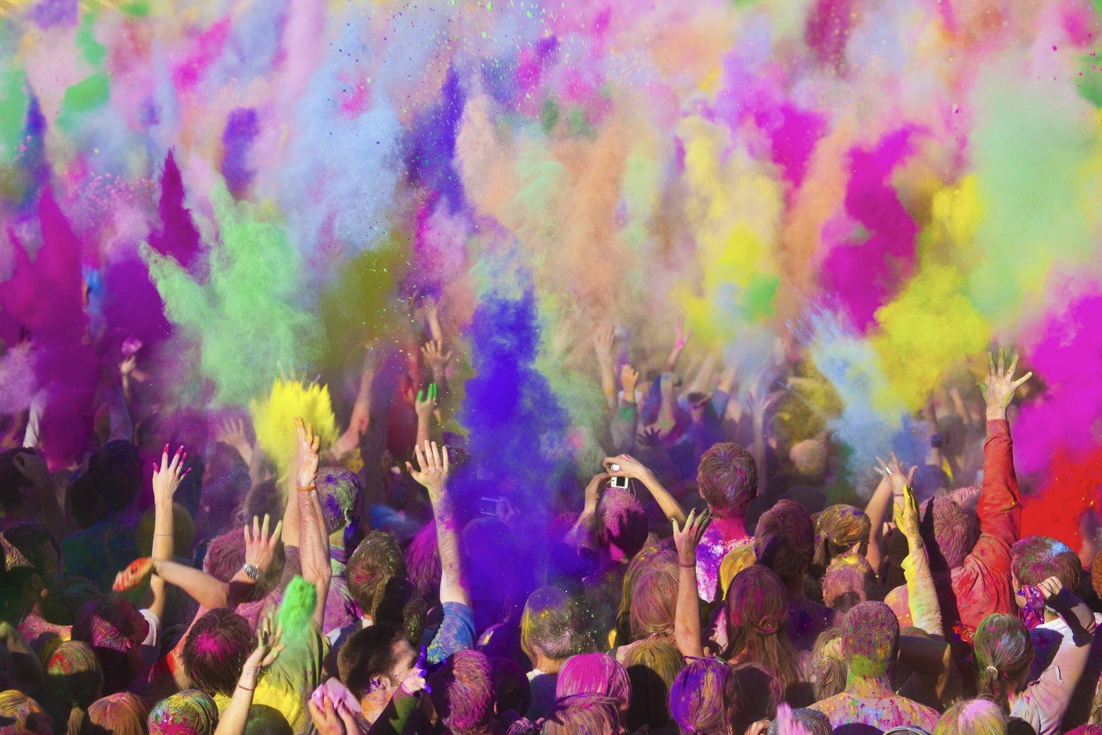 Kinder Garden: Final Major Project: Brief 5:: Indian Powder Paint Holi