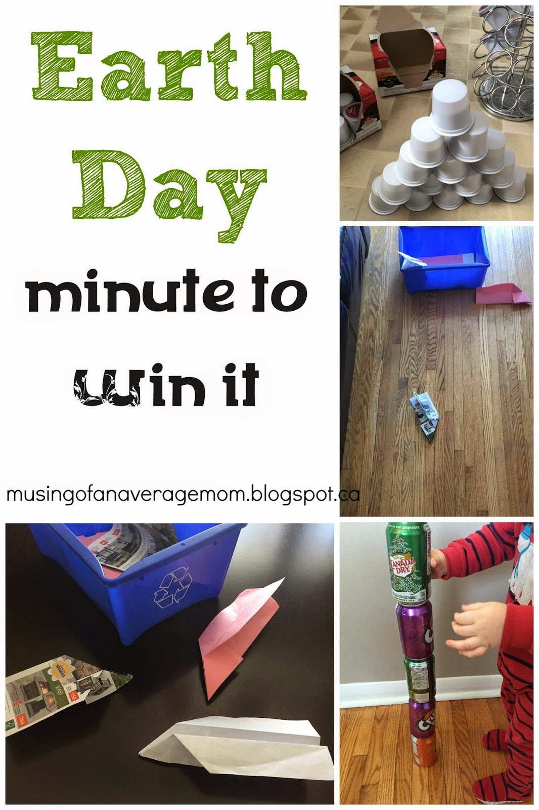 Earth Day Minute to Win It