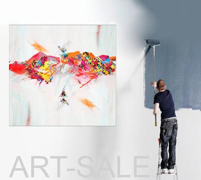Moderne Kunst zum Einrichten. Großformatige Acrylbilder & XXL-Ölgemälde für private Räume und Geschäftsbereich. art4home.de
